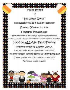 Ginger Woods - Halloween Parade & Family Festival @ Red Maple & Charter Oak | Aurora | Illinois | United States